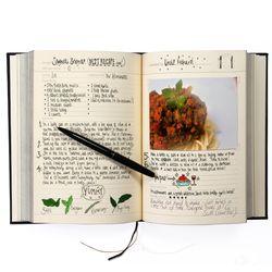 썩유케이 가족 요리책 레시피북 블랙