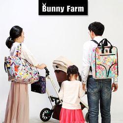BunnyFarm(바니팜) 기저귀가방 백팩쇼퍼백백인백
