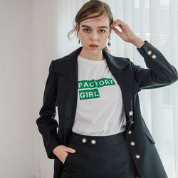 Factory Girl (Green Flocking)