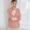Stripe Cuffs T (Red)