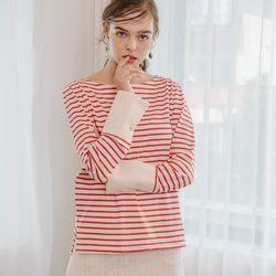 Stripe Cuffs T (Red)