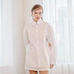 Basic Boxy Shirt (White)