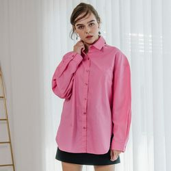 Basic Boxy Shirt (Pink)
