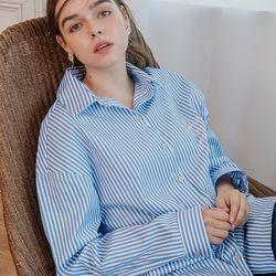 Stripe Boxy Shirt