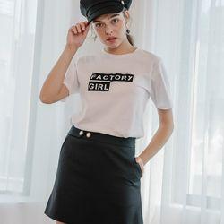 [예약배송 3/27 출고] Black Mini Skirt