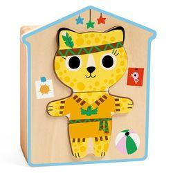 드제코우든퍼즐 고양이 옷입히기 (DJ01678)