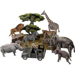 내셔널지오그래픽 3D퍼즐 아프리카 야생동물