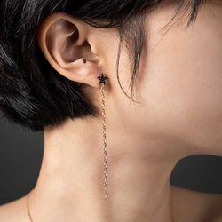 [14k]롱 별 귀걸이 슈가별
