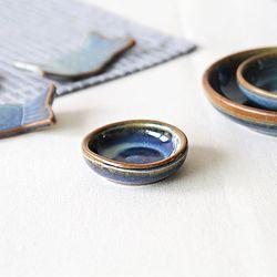 로자비 데님 원형종지 미니 6cm (477-005)