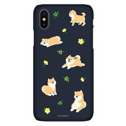 아이폰7+ 8+ 시로앤마로 정품 슬림핏 - 꽃시바 패턴