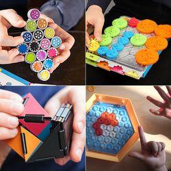 1인용휴대용여행용 도형 두뇌퍼즐 모음
