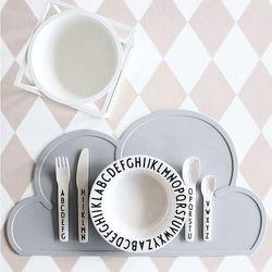 인테리어 구름 실리콘 식탁 테이블 매트