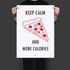 유니크 인테리어 디자인 포스터 M 피자 A3(중형)