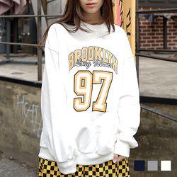 2077 브루클린 맨투맨 (3colors)