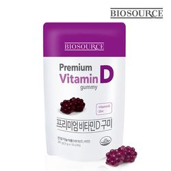 바이오소스 프리미엄 비타민C 구미 1파우치 (10구미)