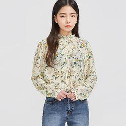 spring day flower blouse
