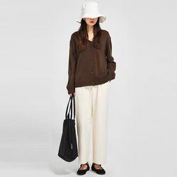 FRESH A soft basic cardigan
