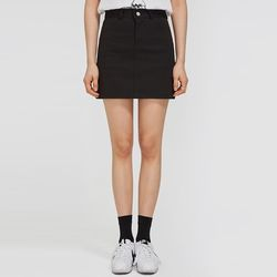 FRESH A basic cotton skirt (s m)