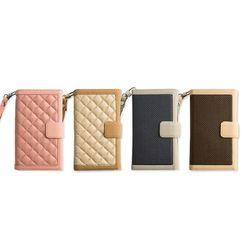 [LG G4]도도랩 엠보스 이중 지갑 케이스