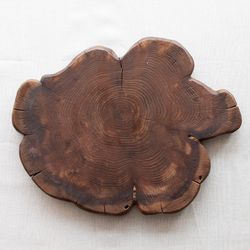 향나무 원형 트레이