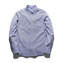 18ss 플루크 스트라이프 셔츠 FLS018C804 블루