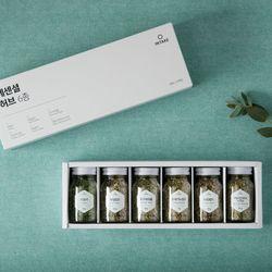 [6종세트]에센셜 허브 선물세트+쇼핑백
