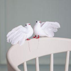 비둘기 모형 2set(대)