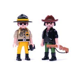 플레이모빌 듀오팩-경비대원과 사냥꾼(9217)
