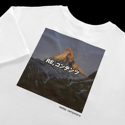 new replay campaign 12 tee (pink)