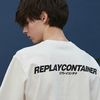 [4/18 출고예정] replaycontainer sig cotton tee (white)