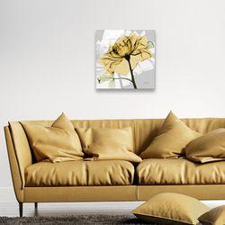 인테리어 그림 액자 봄맞이 옐로우 장미 꽃