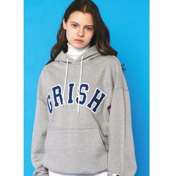GRISH Signature HOODIE-(GRAY BLUE)