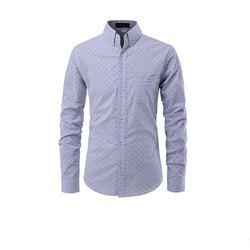 남성 슬림핏 스트라이프 긴팔 셔츠 ALLS515