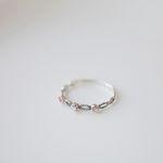 멜로우 자개Ring (silver925)