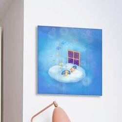 ca120-아크릴액자꿈꾸는소녀