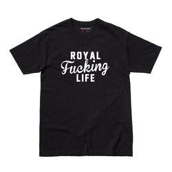 RL209 로얄 뻐킹 라이프 반팔 - 블랙