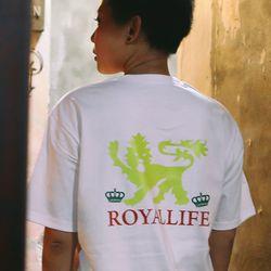 RL210 앰블럼 반팔 - 화이트