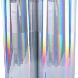 홀로그램시트지 (IT-P522) 민무늬실버