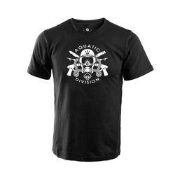 [해저드4] 아쿠아틱 디비젼 반팔 티셔츠  (블랙)