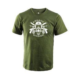 [해저드4] 아쿠아틱 디비젼 반팔 티셔츠 (OD)