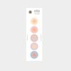 5 circle sticker - gradation