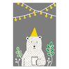 북유럽포스터 - 파티곰 PARTY BEAR POSTER (S size)