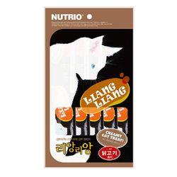 리앙리앙 고양이츄르10g-닭고기5P 애묘간식