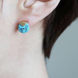 터키 조각 귀걸이