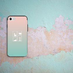[아이폰6]NBH-0156 귀여운 액자 로즈민트 슬라이더