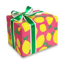 포장지 핑크 레몬 (1개)