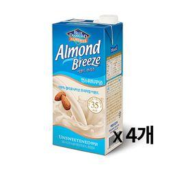 냉장-매일 아몬드브리즈 언스위트 950ml 4개묶음
