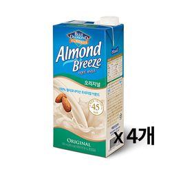 냉장-매일 아몬드브리즈 오리지널 950ml 4개묶음