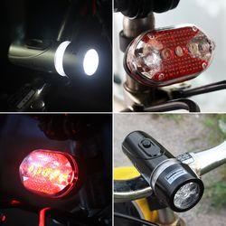 에코벨 LED 랜턴+후미등 세트/전조등/안전등/라이딩