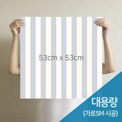 [무지막지]더큰 THE조각벽지 멀티라인스트롱 5M시공